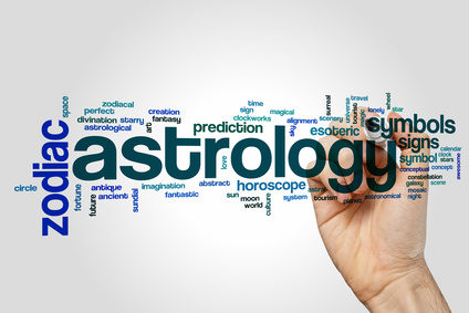 Astrology word cloud concept