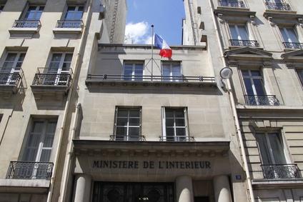 Paris - Ministre de l'intrieur